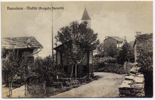 Bussoleno - Mattie. Frazione Fornelli, 1925.