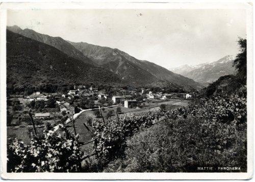 Frazione Gillo vista dalla Collina dei Cou (1940)