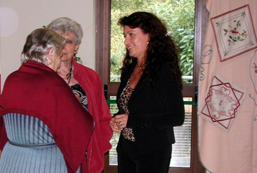 03 - Visitatori alla mostra