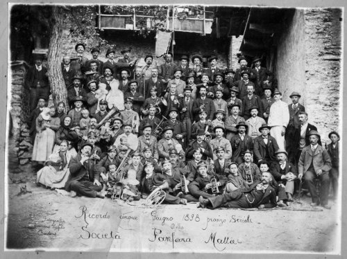Società Fanfara Mattie, 5 giugno 1898