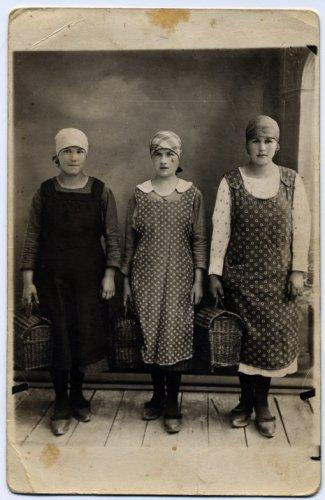 Operaie mattiesi del Cotonificio, 1920
